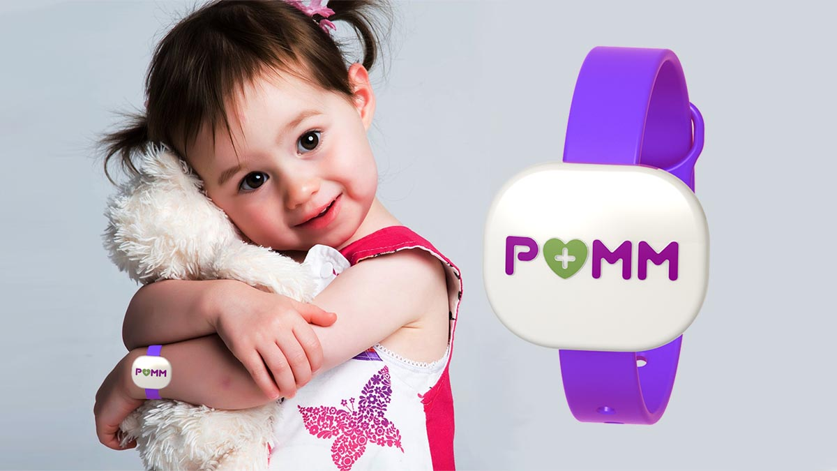 POMM™ is wearable technology to keep children safe